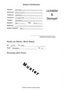 Heimatschein MUSTER (Rückseite) letzte Version
